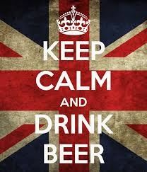 keep calm beer