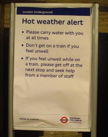 Tube Hot Weather